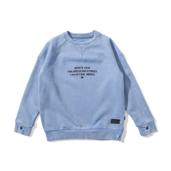 MunsterKidsAW18SweatshirtUnbrushedWashedBlue1