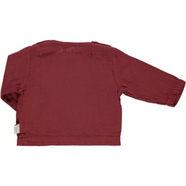 PoudreOrganicAW18Blouse4ButtonSyrah2