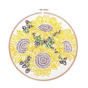 Studio MME Sunflower Riot Embroidery Kit
