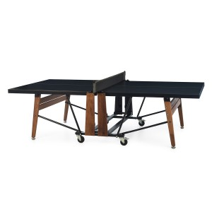 RS Barcelona Folding Ping Pong Table in Black