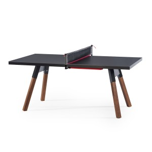 Rs Barcelona Small You & Me Ping Pong Table in Black