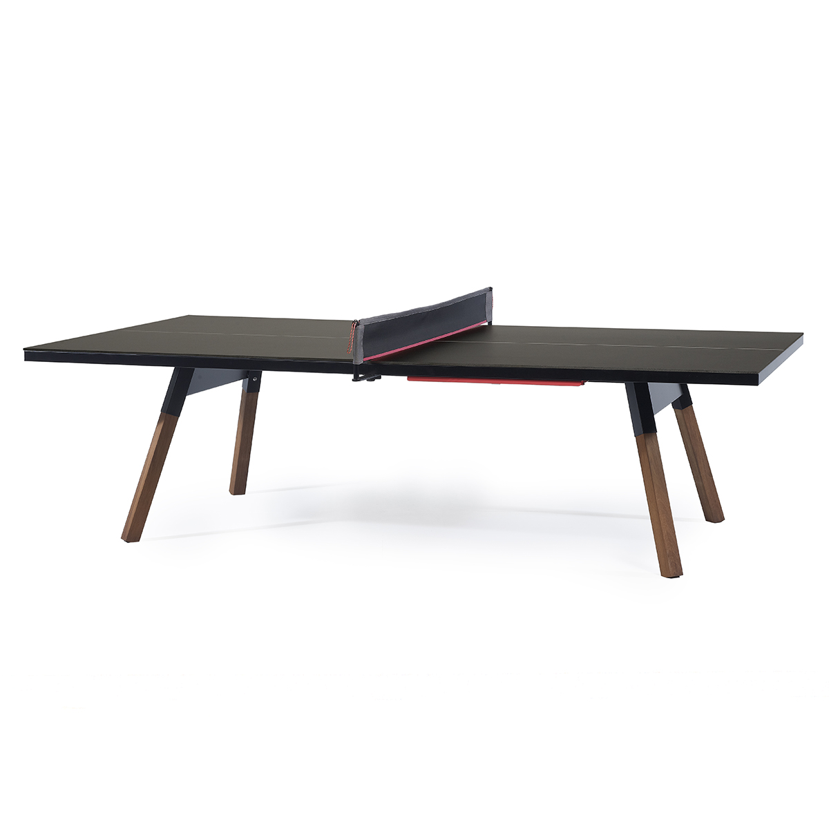 RS Barcelona Standard You & Me Ping Pong Table in Black