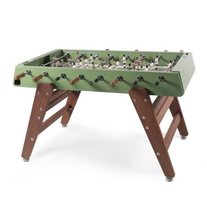 RS Barcelona RS #3 Wood Foosball Table in Green