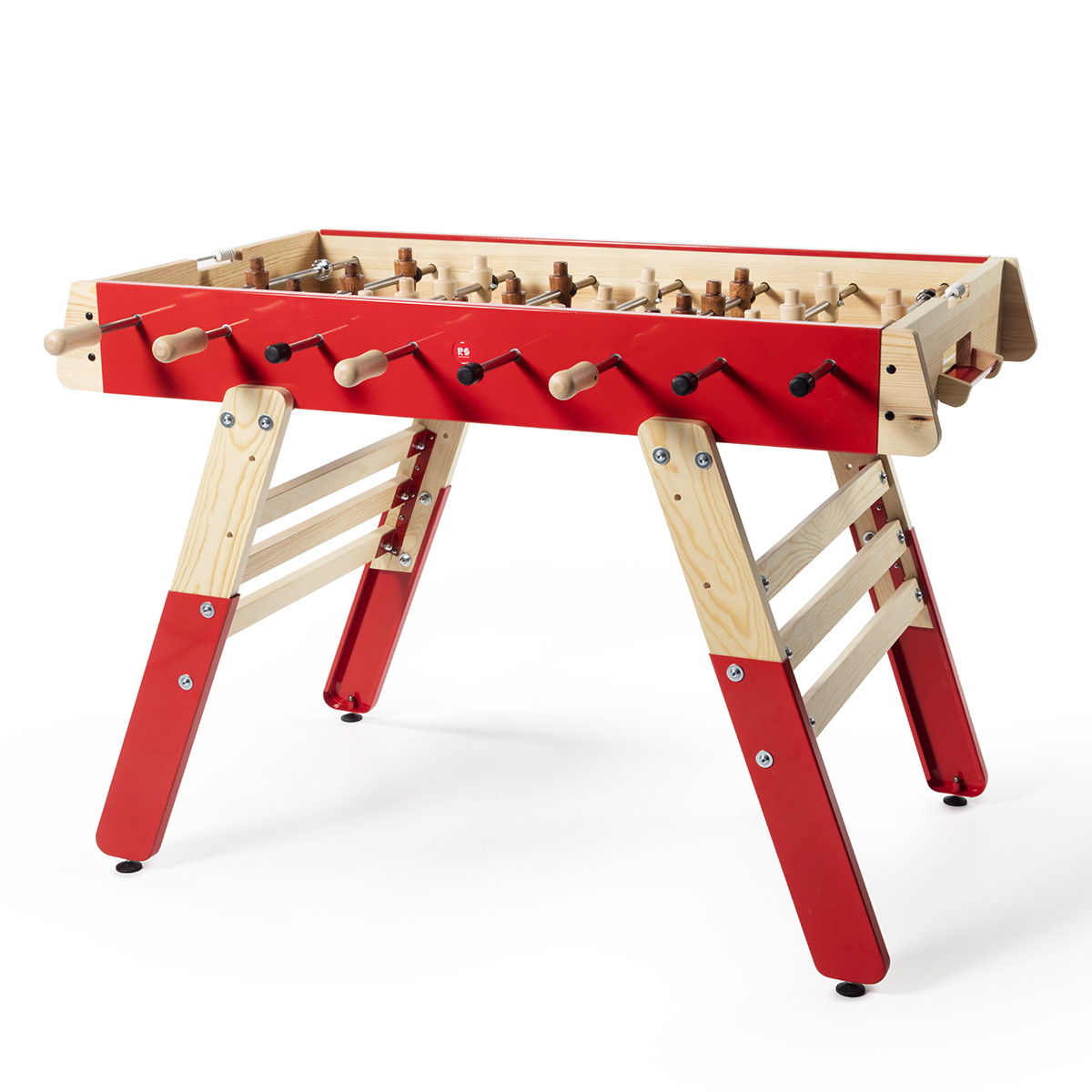RS Barcelona RS#4 Fun Foosball Table in Red