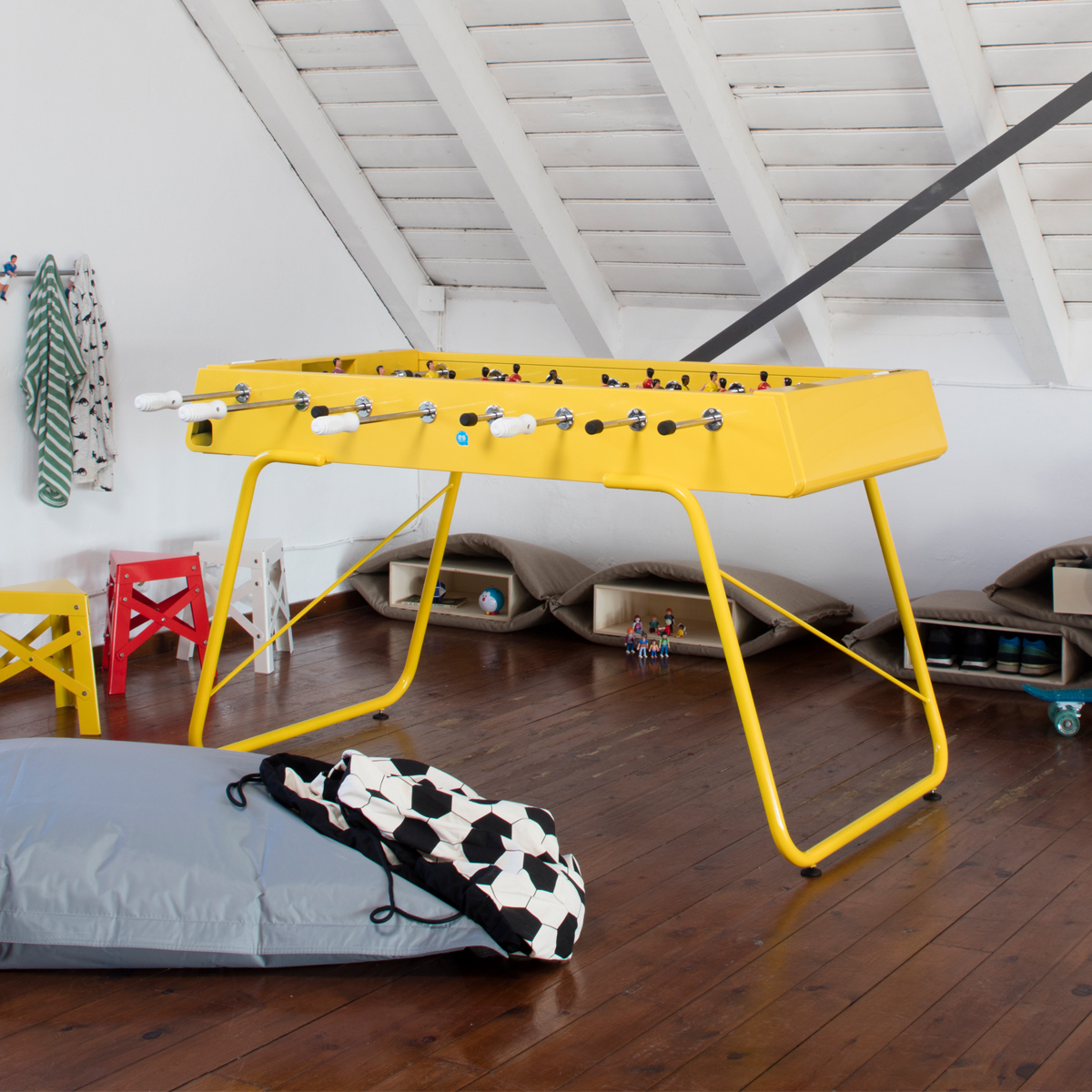 RS Barcelona RS #3 Foosball Table in Yellow