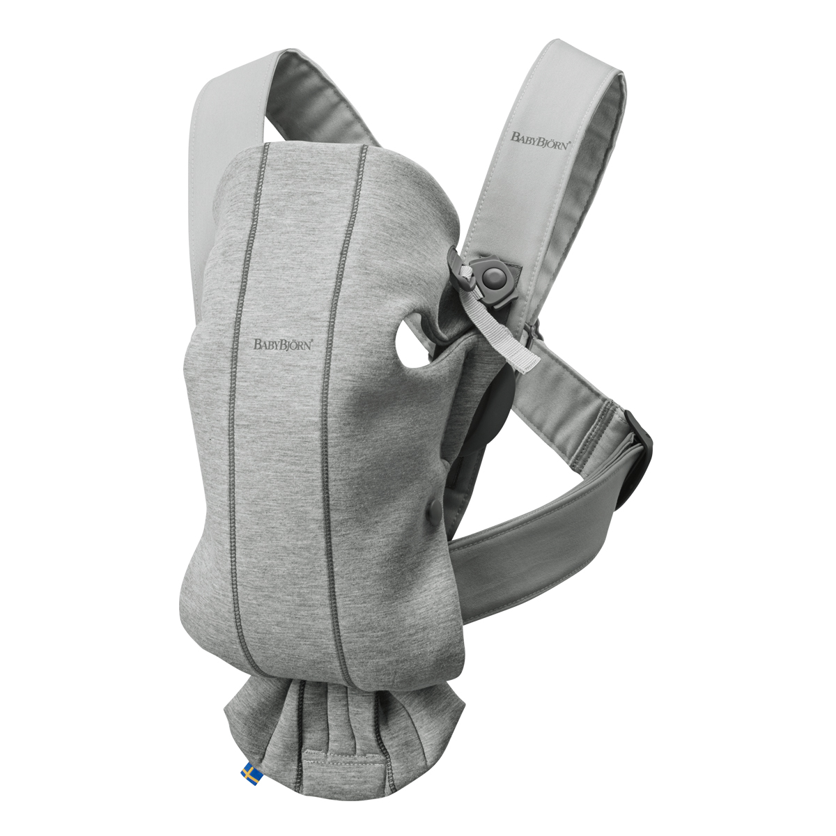 Baby Bjorn Jersey Mini Carrier in Light Grey