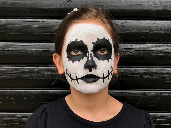 Mexican day of the dead face paint