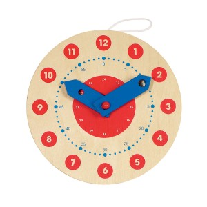 Goki Wooden Clock Toy
