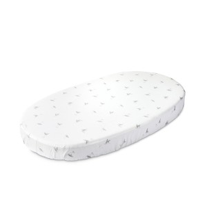 Stokke x Petit Pehr Sleepi Bed Fitted Sheet in Stork