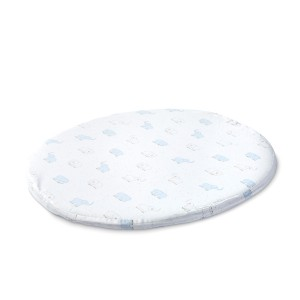 Stokke x Petit Pehr Sleepi Mini Fitted Sheet in Elephant