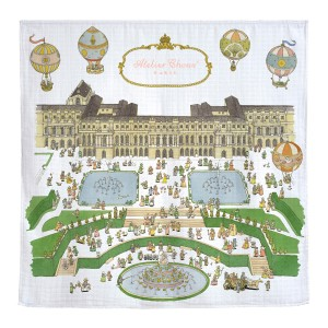 Atelier Choux Organic Swaddle in Versailles Print