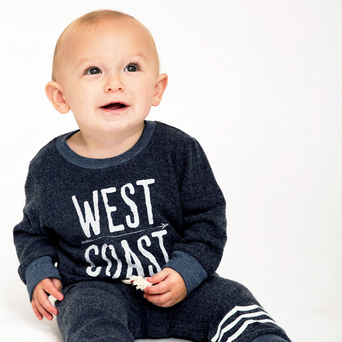 Sol Angeles West Coast Pullover on baby