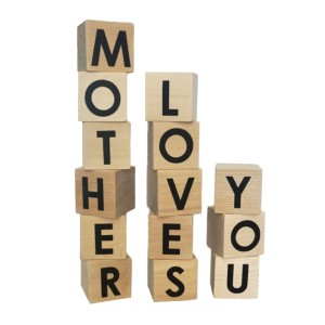 Mother Denim x Modern Blocks Mother Loves You Block Set
