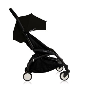 Babyzen Yoyo + Stroller in Black with Black