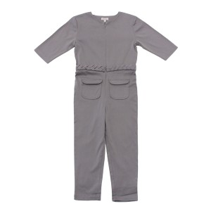 Elodiee Rose Jumpsuit in Grey