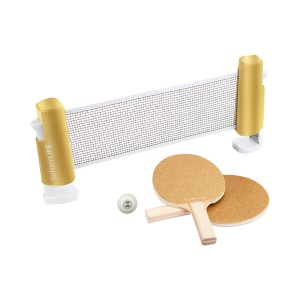 Sunnylife Ping Pong Play On Game Set in Gold Glitter