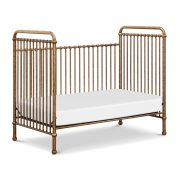 Million Dollar Baby Abigail 3-in-1 Convertible Crib in Vintage Gold