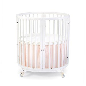 Stokke x Petit Pehr Sleepi Mini Bed Skirt in Blush