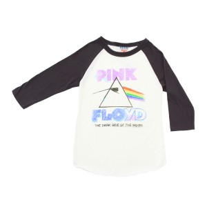 Junk Food Clothing Pink Floyd Baseball Tee