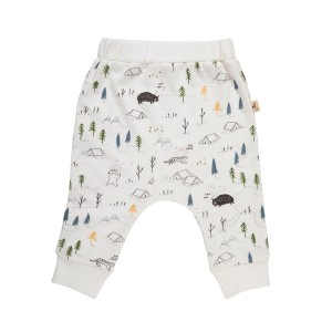 Red Caribou Pocket Pants in The Expedition White