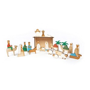 Meri Meri Nativity Scene Advent Calendar
