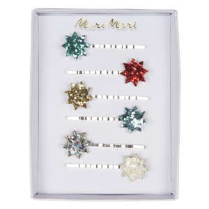 Meri Meri Glitter Star Hair Slides