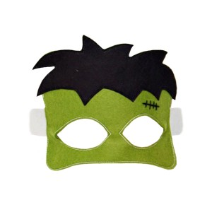 Opposite Of Far Felt Frankenstein Mask