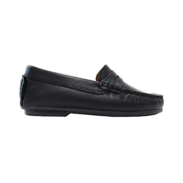 ChildrenChicClassicMoccasinBlack2