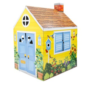 Melissa & Doug Cardboard Country Cottage Indoor Playhouse