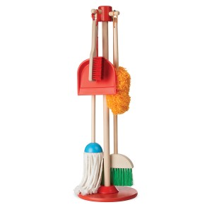 Melissa & Doug Dust! Sweep! Mop! cleaning supplies play set