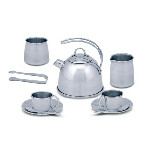 Melissa & Doug Stainless Steel Tea Set