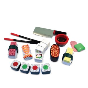 Melissa & Doug Wooden Sushi Play Set
