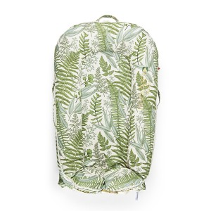 DockATot Deluxe Plus Cover in Green & White Lush & Fern Print