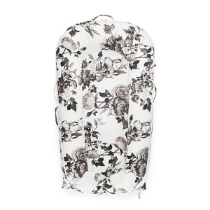 DockATot Deluxe Plus Cover in Lighter Shade of Pale Monochrome Rose Print
