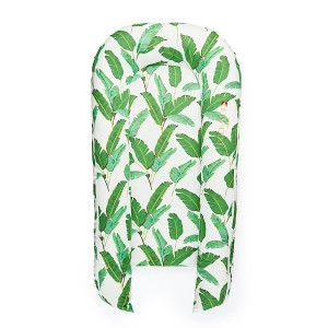 DockATot Grand Cover in Bananas For You Green Palm Print