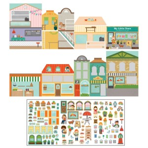 Petit Collage Sticker Activity Set in My Town