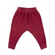 RedCaribouAW18PantsTerryJoggerWinterStormRed
