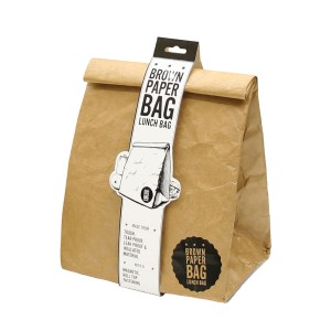 Luckies of London Reusable Brown Paper Bag