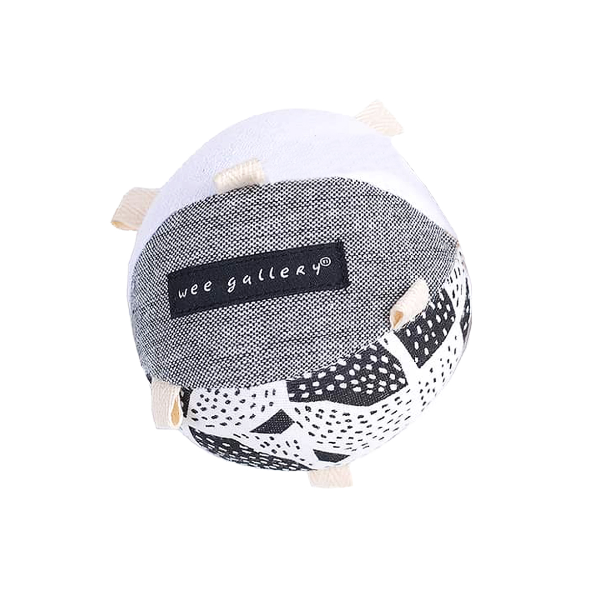 Wee Gallery Organic Cotton Taggy Ball