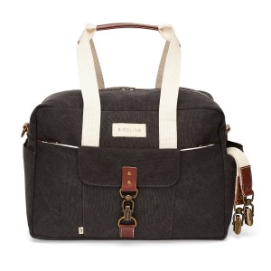 Birdling Bags Overnighter Bag in Charcoal