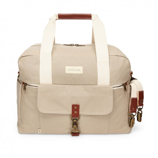 Birdling Bags Weekender Bag in Grey