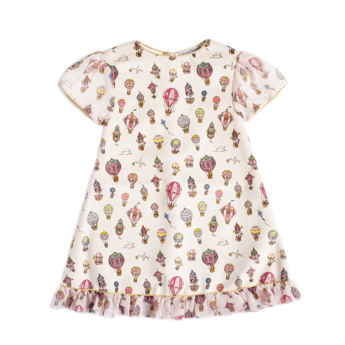 Atelier Choux Cotton Velours Dress
