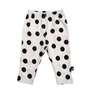 Anarkid Legging in white spot print