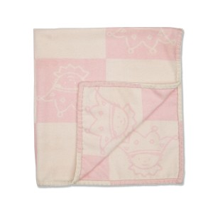 Marie Chantal Lightweight Tino Blanket in Pink