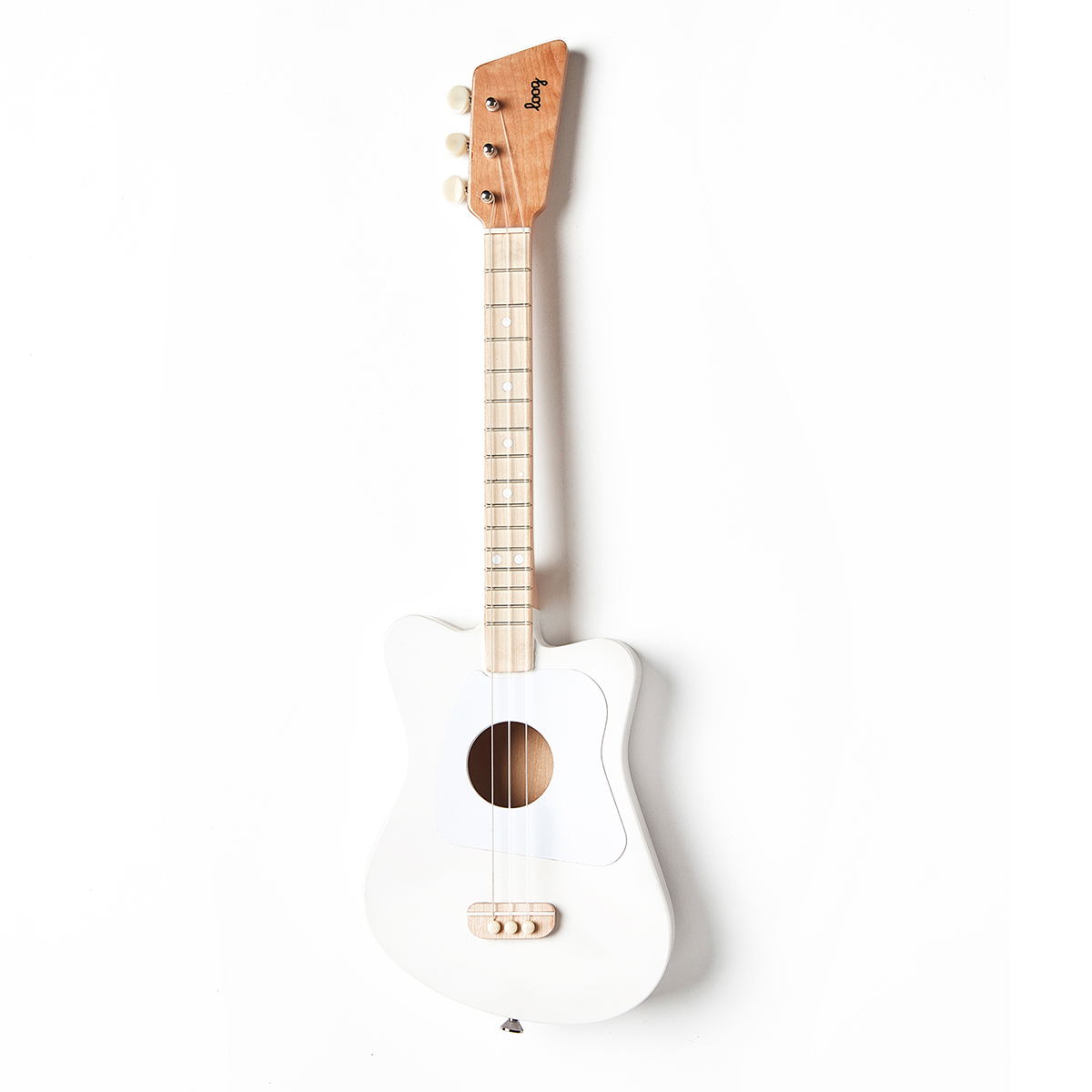 Loog Guitars Mini Guitar in White