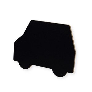 Kitpas Car Shaped Chalkboard Magnet Set