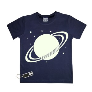 Little Mashers Tee Light Tee Shirt in Navy Solar
