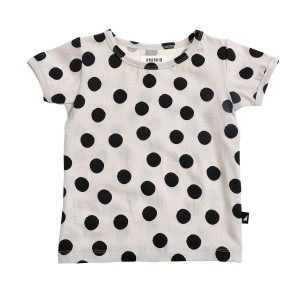 Anarkid Short Sleeve Tee in Small Black Spot