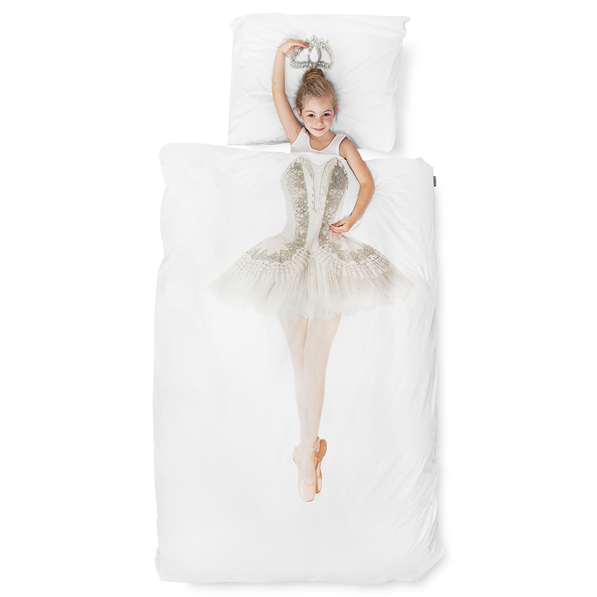 Snurk Twin Size Duvet Cover in Ballerina