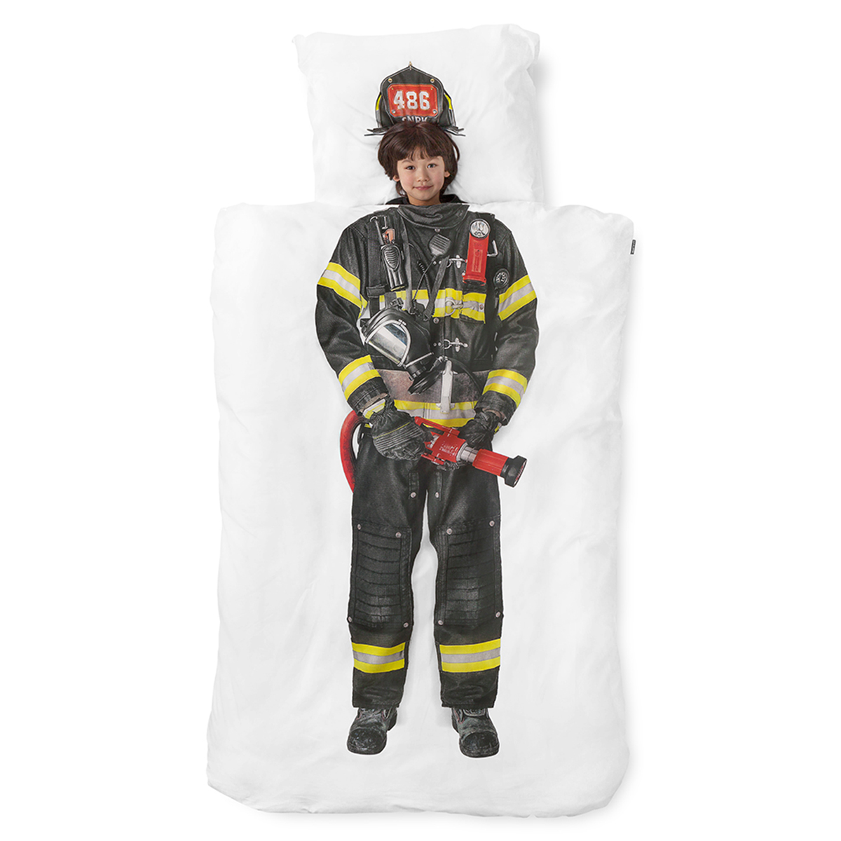 Snurk Twin Size Duvet Cover in Firefighter